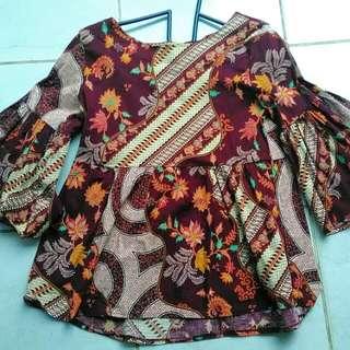 Batik Kerja Bahan Karet