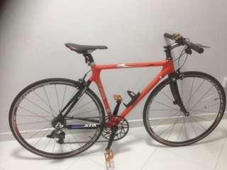 Carbon hybrid bike