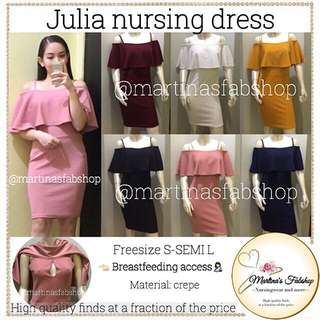 Julia nursing / breastfeeding dresa