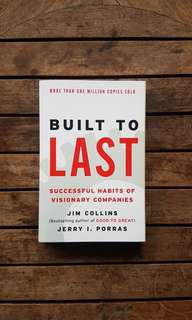 Built to Last by Jim Collins