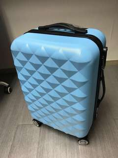 "全新21""旅行喼 粉藍色 suitcase luggage"