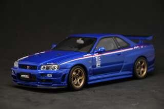 1:18 R34 GTR Sports Resetting