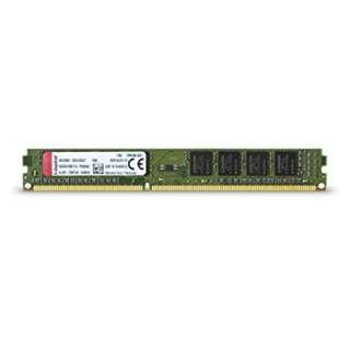 Kingston 8GB (4GBx2) 240-Pin DDR3 1600 (PC3 12800) Desktop Memory KVR16LN11/4