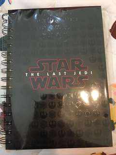 Limited Edition Star Wars Notebook