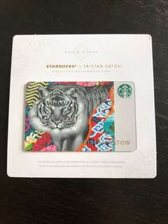 Tristan Eaton x Starbucks Card Tiger