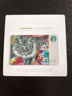 Tristan Eaton x Starbucks Card Tiger