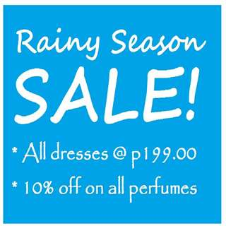 RAINY SEASON SALE!!