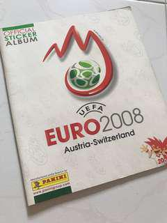 Euro 2008 sticker album