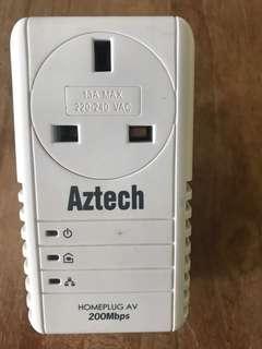 Aztech homeplug 200Mbps