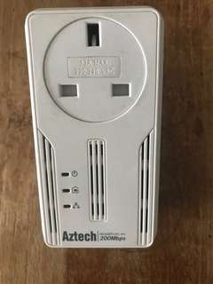 Aztech homeplug 200Mbps