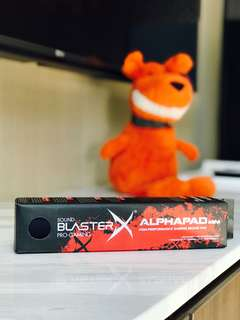 BRAND NEW Sound BlasterX AlphaPad Mini