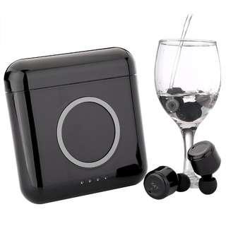 X4t 含充電艙 讓手機可無線有線充電 質感 觸碰式 無線 雙耳 藍牙4.2 耳機 IPX7 防潑水 蘋果 安卓都可用