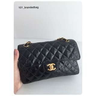 Chanel Patent Double Sided Small Flap Bag