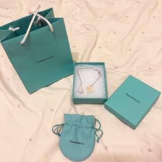 Tiffany 心型 項鍊 小號