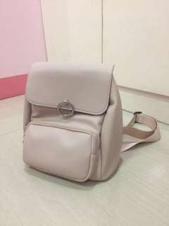Miniso Nude Pink Backpack