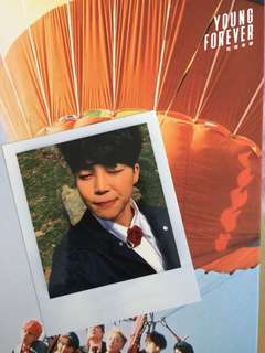 OFFICIAL BTS JIMIN YOUNG FOREVER PHOTOCARD