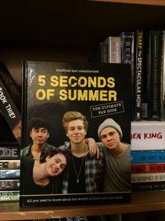 5 Seconds of summer fan book