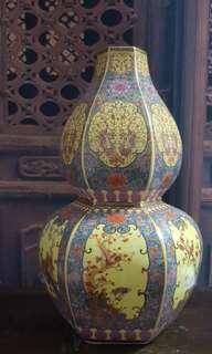 Porcelain Vintage  Vase #HariRaya35