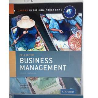 Business And Management - Course Companion - Lominé, Muchena and Pierce - Oxford 2014
