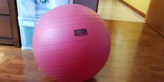 Midium size Fitness Ball Comfortable Durable Thickened Explosion-proof Slimming Exercise Yoga Gym Ball for Woman Child