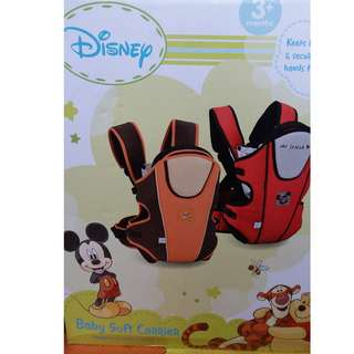 Disney baby carrier color red