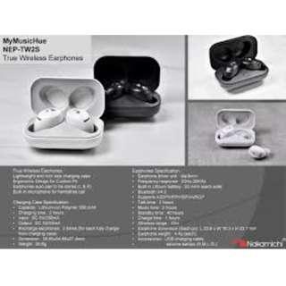 Nakamichi MyMusicHue NEP-TW2S True Wireless Earphones 1year warranty