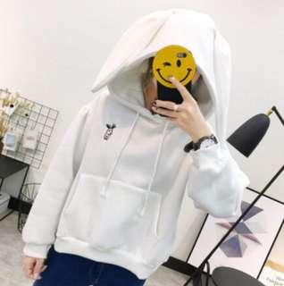 Kawaii Bunny Hoodie (Aesthetic Japanese/Korean)