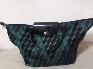 Longchamp losange green limited edition