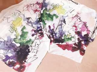 CHAILIE HO 💯% silk scarf