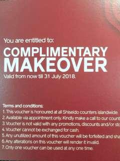 #HariRaya35 Shiseido makeover
