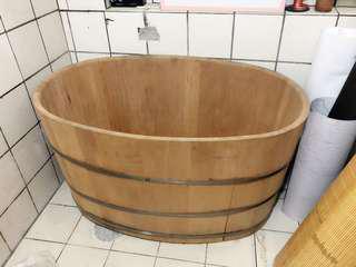檜木桶 浴缸 二手