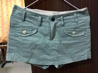 🚚 湖水綠褲裙