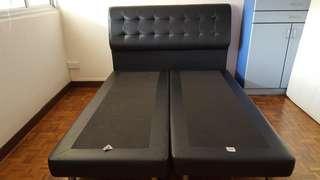 Queen-sizec bed frame