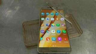 Samsung Note 5 32GB Gold Swap
