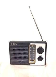 Vintage Sony Radio SONY 2 Bands Portable AM FM Transistor Radio