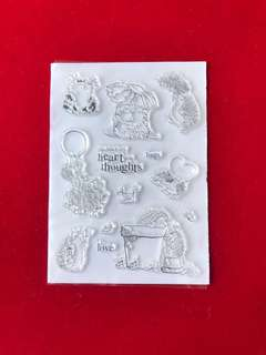 Animals stamps #32 scrapbook clear stamps
