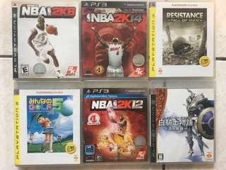 🚚 6 X PS3 Games