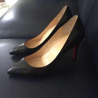 Chiara Ferragni copy shoes black patented