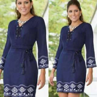 Embroideres dress