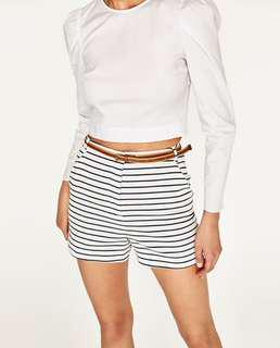 Zara Stripe shorts
