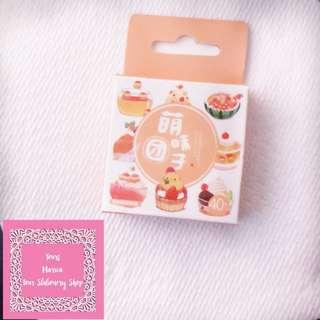 Set of 40pcs Yummy Sweet Dessert Sticker Pack
