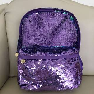 CHANGING COLOR 💜💚 Sequin Bag