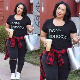 Hate Monday Terno (Plus Size)
