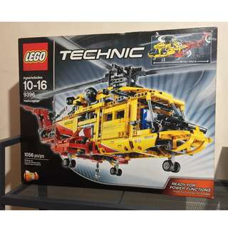 Lego Technic 9398 Rescue Helicopter