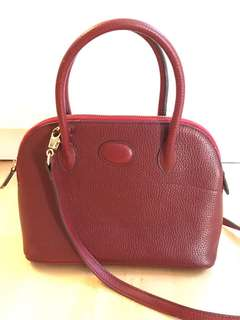 Hermes Bollide Look-A-Like Real Leather