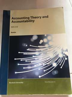 BUS 304 Accounting Theory and Accountability