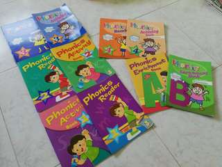 Pre-school Phonics Reader and Activities series (set of 5)