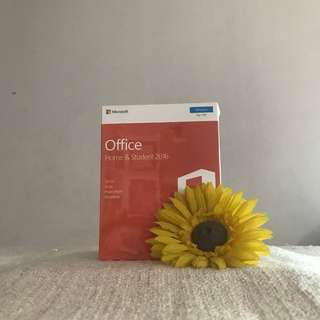 LIFE-TIME ACTIVATED VERSION : Microsoft Office (Home & Student 2016)