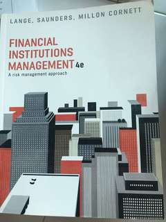 Financial Institution Management ( Kaplan Murdoch )