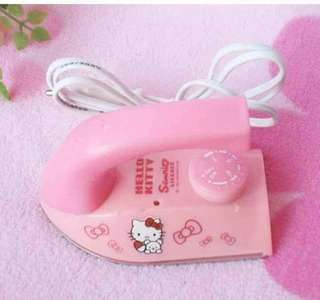 Hello Kitty mini iron